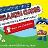 PLAY-DOH to Spread Cans of Kindness, Donating up to One Million Cans of PLAY-DOH to 'Save the Children'