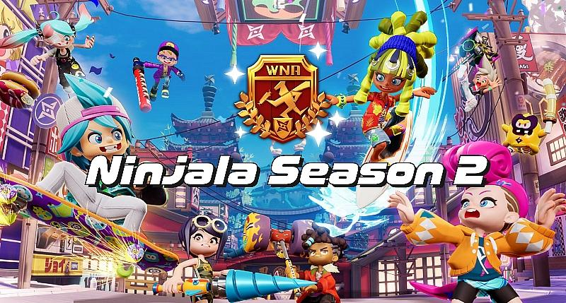 Ninjala Season 2 Now Live, Sonic the Hedgehog Collaboration Coming Soon