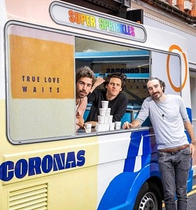 """Ireland's The Coronas Hit the Road…Sort of… in Support of New Album, """"True Love Waits,"""" and Celebrate National Ice Cream Month"""