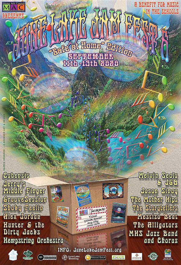 June Lake Jam Fest Announces Free Virtual Music Festival, Launches New Website