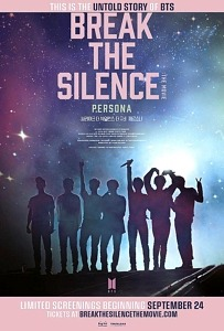 """Tickets For """"BREAK THE SILENCE: THE MOVIE - The Untold STory of BTS"""" On Sale Now Across US and Canada"""