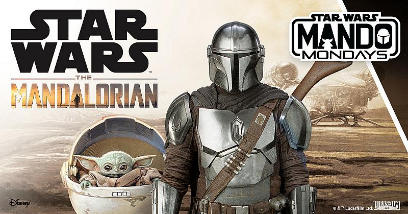 """Disney and Lucasfilm Announce """"Mando Mondays"""" – A New Global Product Reveal Program in Celebration of """"The Mandalorian"""""""