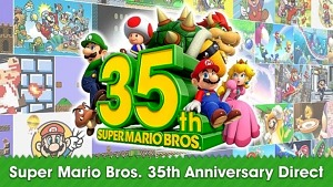 Nintendo Marks the 35th Anniversary of Super Mario Bros. With Games, Products and In-Game Events