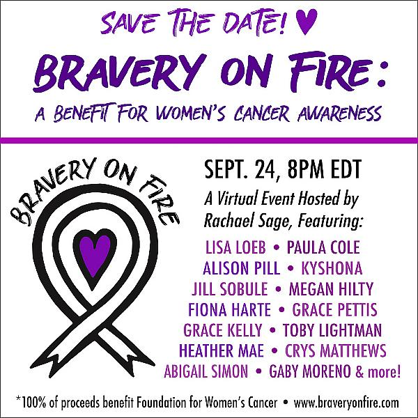 Performers Rally for Women's Cancer Awareness Benefit Sept. 24