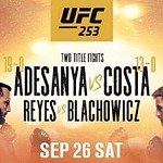 Fight of the Year Contender between (C) Israel Adesanya and (#2) Paulo Costa Headlines Return to UFC Fight Island