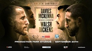 MTK Global Golden Contract Featherweight & Super Lightweight Championships to Stream LIVE and Exclusively on ESPN+ Sept. 30