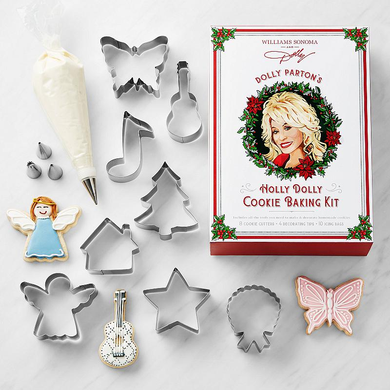 Holly Dolly Cookie Baking Kit