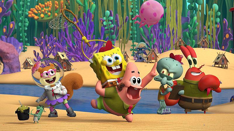 Nickelodeon Reveals First Look of Characters in Original Kamp Koral: SpongeBob's Under Years Animated Series