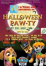 "I'm Young And Empowered, Inc. to Host ""Halloween PAW-TY"" October 31, 2020"