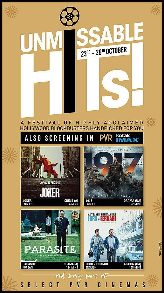PVR Cinemas Welcomes Back Movie Lovers with Film Festivals, Food, and Unlimited Fun