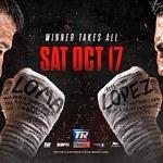 FITE Named the Exclusive UK Distributor for Lomachenko vs Lopez – Saturday, October 17th