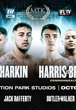 Unbeaten Welterweights Michael McKinson and Martin Harkin Face off LIVE and Exclusively on ESPN+ Oct. 18