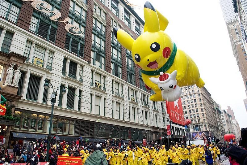 PIKACHU by The Pokémon Company International - Photo: Kent Miller Studios Macys Inc.