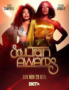 """Tisha Campbell & Tichina Arnold Return as Third Time Hosts of the """"2020 SOUL TRAIN AWARDS"""" Presented by BET Airing November 29"""