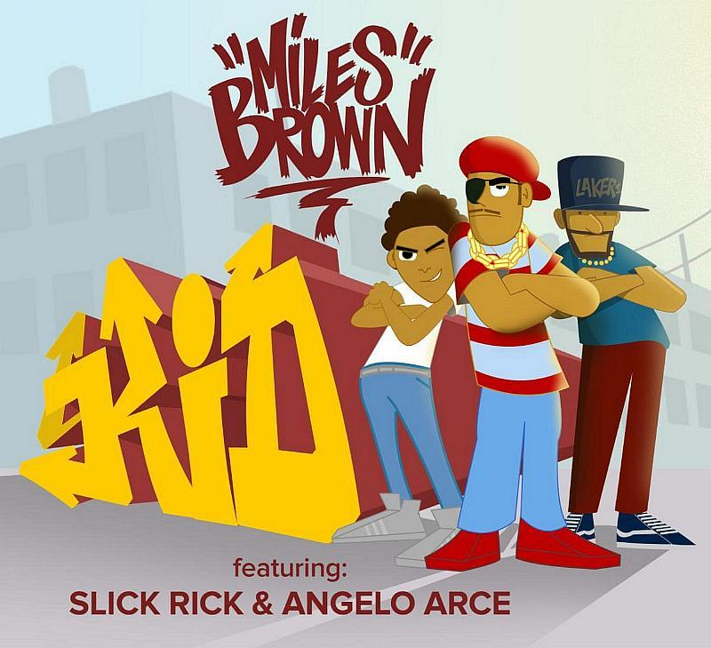 """Miles Brown Releases Video for """"Kid"""" Featuring Slick Rick"""