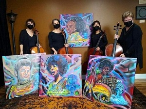 Four Women Blends Music, Film, and Art to Reveal Impact of Four Black Women Throughout History