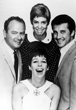 CAROL BURNETT SHOW, Harvey Korman, Vicki Lawrence, Lyle Waggoner, Carol Burnett, 1967-1979.