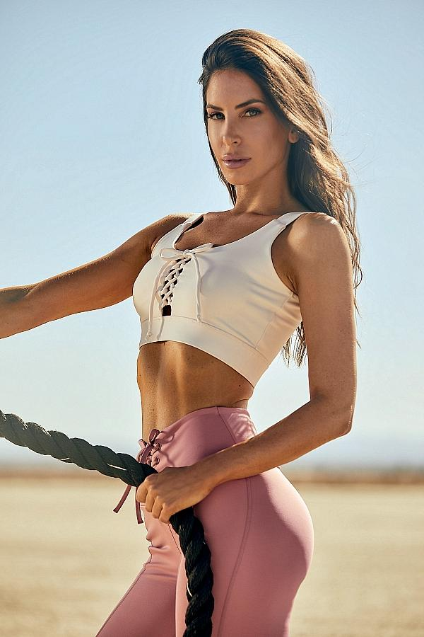Social Media Icon and Fitness Advocate Jen Selter Stars as Face of GUESS Spring 2021 Activewear Advertising Campaign