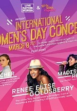 Live Nation Partners With Girls With Impact On Exclusive International Women's Day Concert March 8