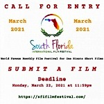 Call For Entries and Submissions - International Film Festival Now Accepting Movies & Scripts For Competition