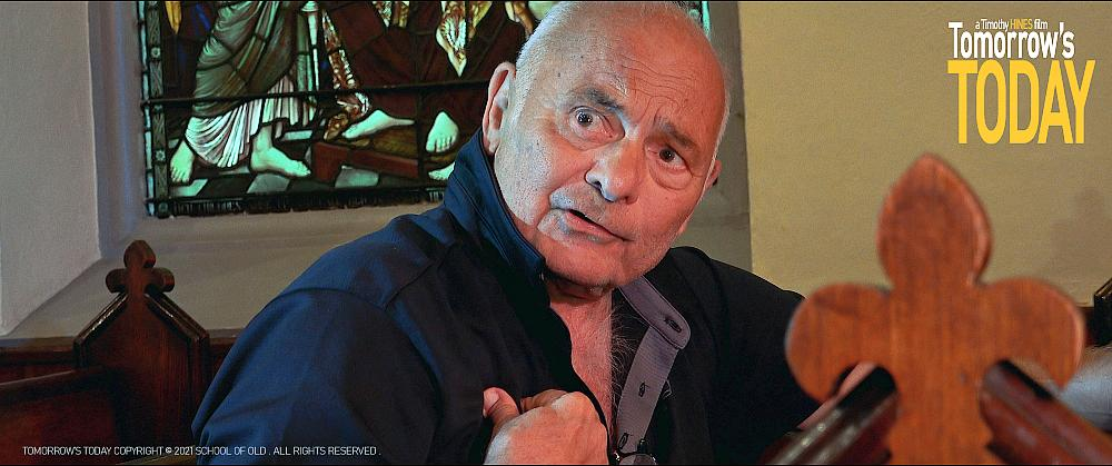 "Academy Award Nominee Burt Young Turns in Powerful Performance in ""Tomorrow's Today"" Premiere at the iDoc Drive In Film Festival in Hollywood April 3rd"