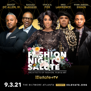Vivica A. Fox & Miss Lawrence Set to Host The Vision Community Foundation's 8th Black Tie Gala on Friday, September 3rd at Historic Biltmore Ballrooms